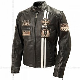 Men's Mesh Leather Jacket 15SJ-2