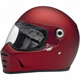 Lane Splitter Helmet - Flat Red