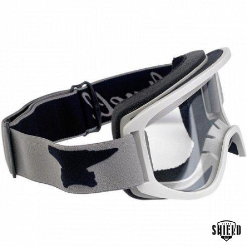48c8be0b71e4 Biltwell Moto 2.0 Goggle - Script Titanium - BikerShield