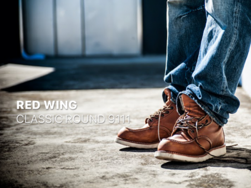 Red Wing Classic Round 9111